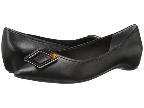 Rockport - Total Motion 30mm Buckle (Black Nappa Leather) Women
