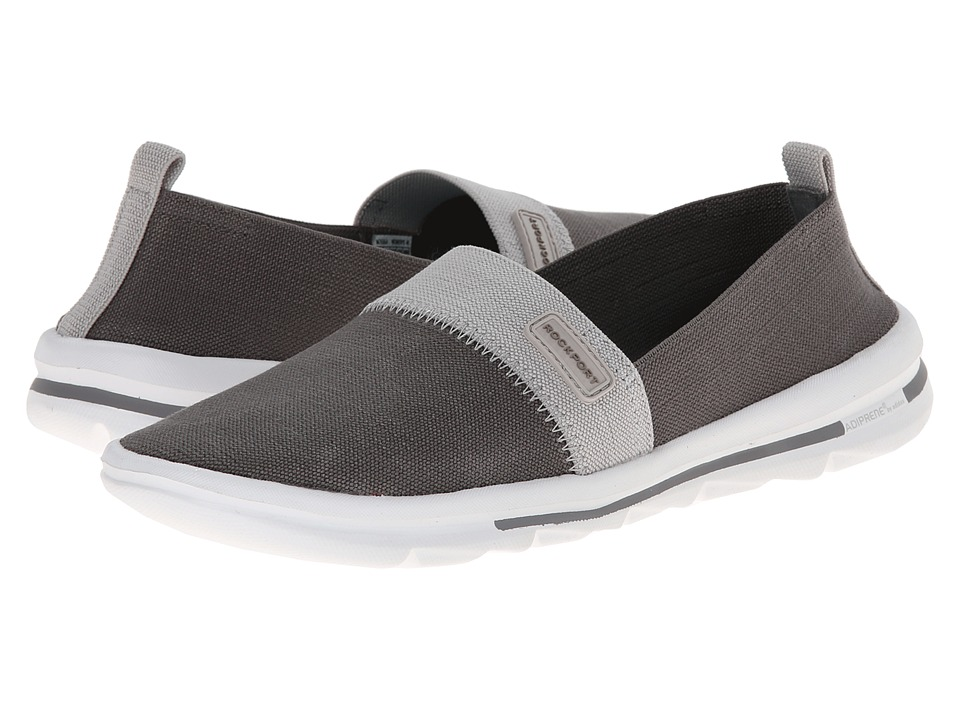 Rockport - XCS Rock On Air Comfort Slip-on (December Sky Washable) Women's Slip on Shoes
