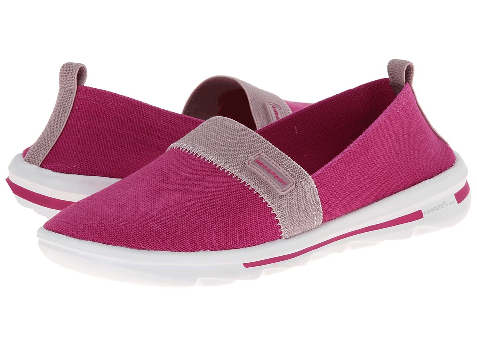 Rockport - XCS Rock On Air Comfort Slip-on (Radiant Orchid Washable) Women's Slip on Shoes