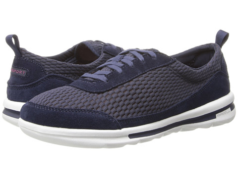 Rockport - Rock On Air Comfort Sneaker (Deep Ocean Washable) Women