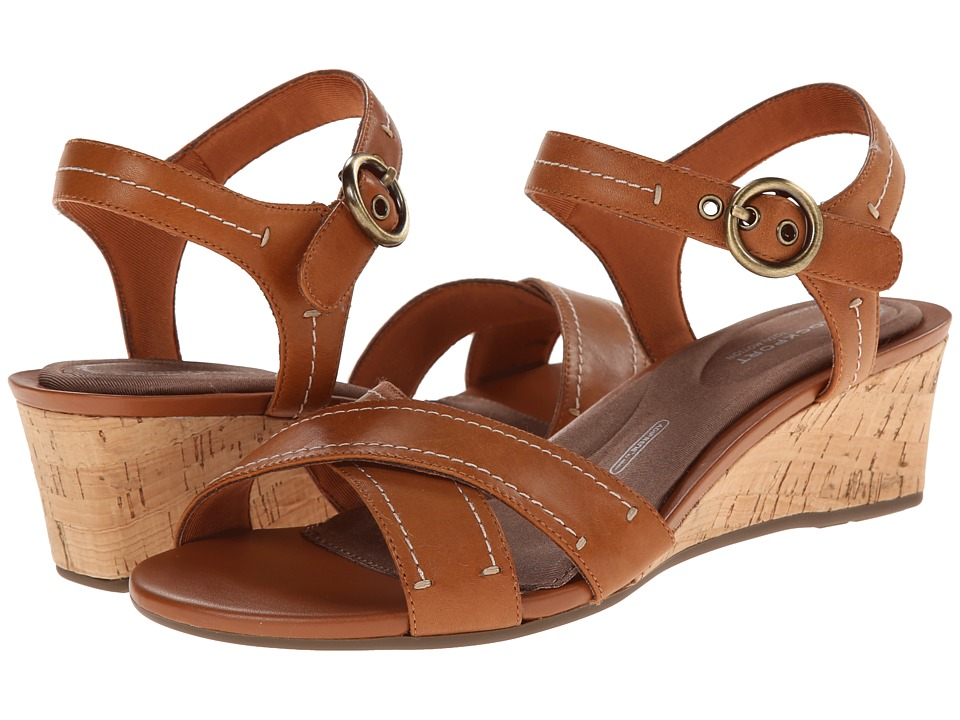 Rockport - Total Motion 55mm Quarter Strap (Valigia Smooth Casual) Women's Sandals