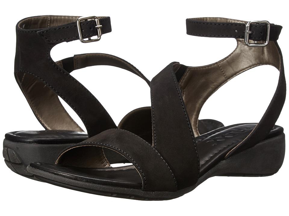 The FLEXX - Gladding (Black Nubuck) Women's Sandals