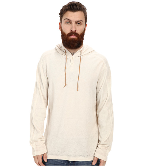 Volcom - Burnt Burnout Thermal (Silver Birch) Men's Long Sleeve Pullover