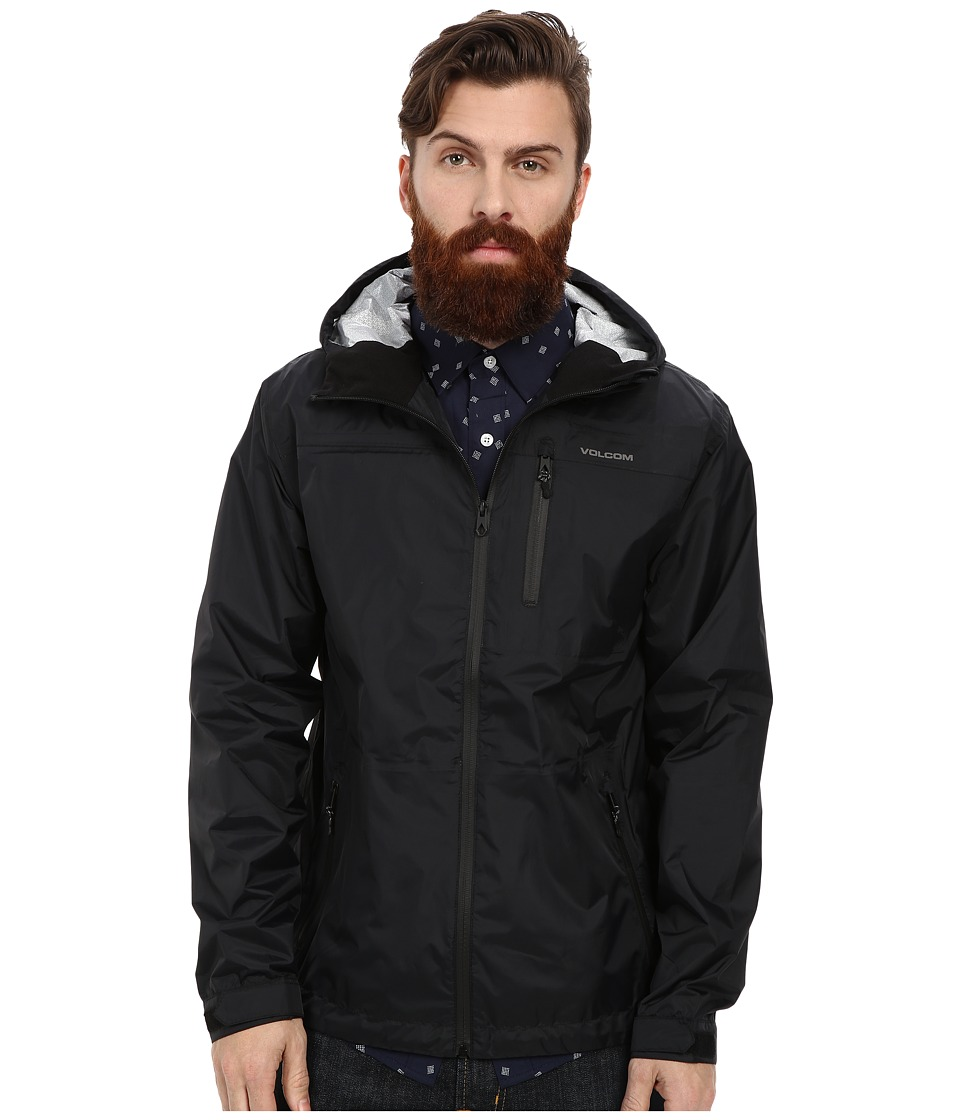 Volcom - Stone Storm Jacket (Black) Men's Coat