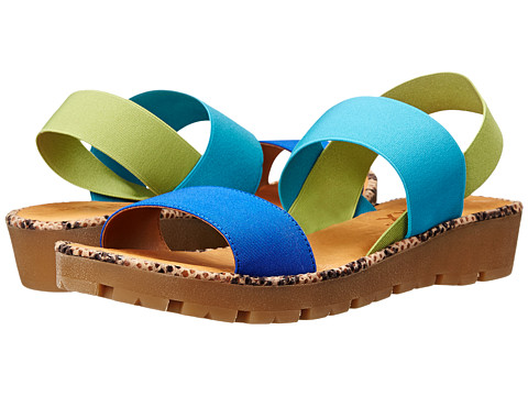 The FLEXX - Sun Stretch (Bluette Mix Elastic Multi) Women's Sandals