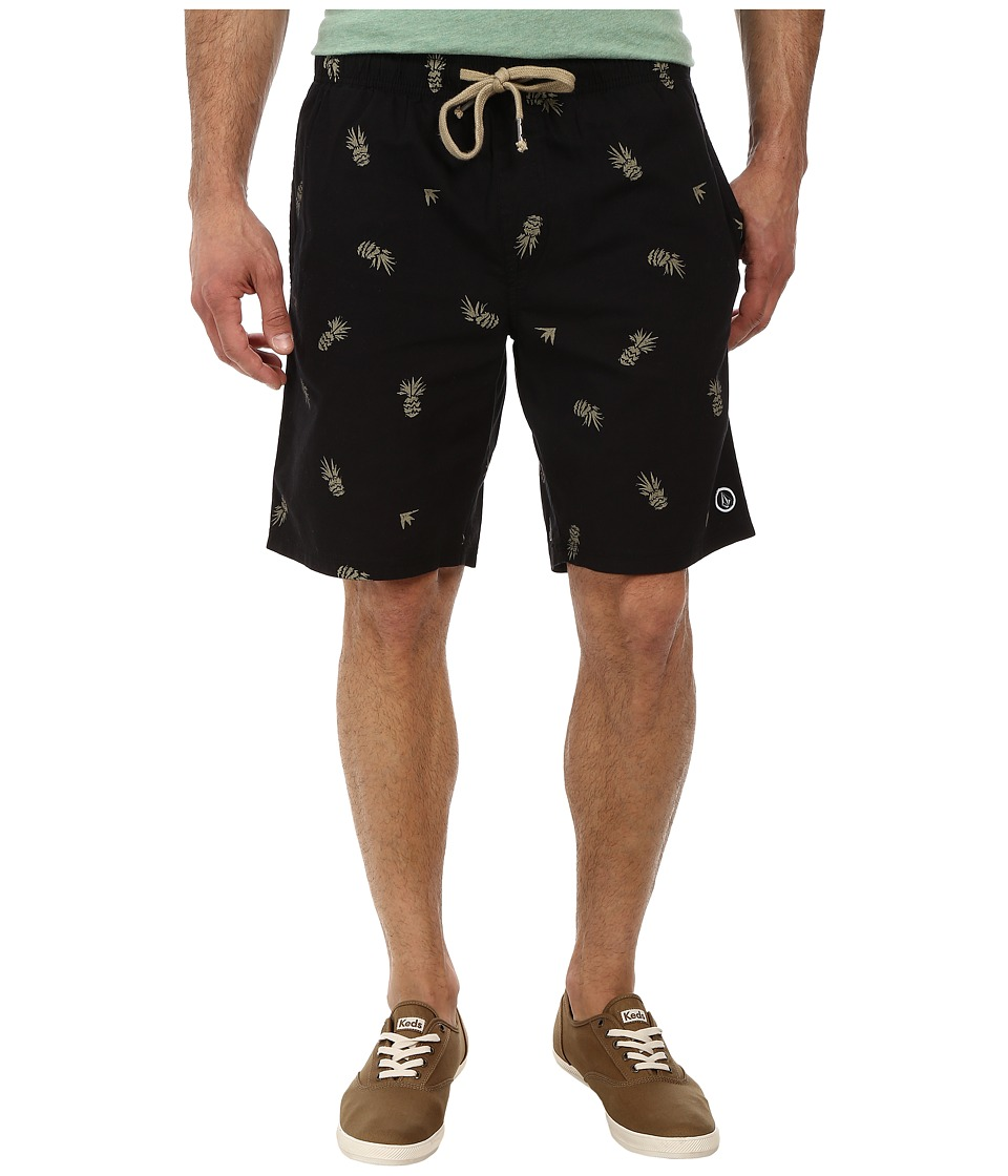 Volcom - Freetown Short (Black) Men's Shorts