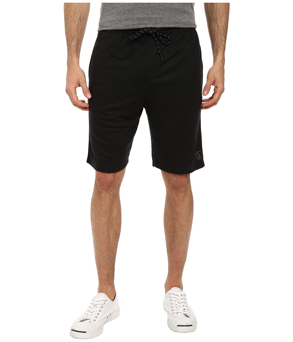 Volcom - Romer Short (Black Heather) Men's Shorts