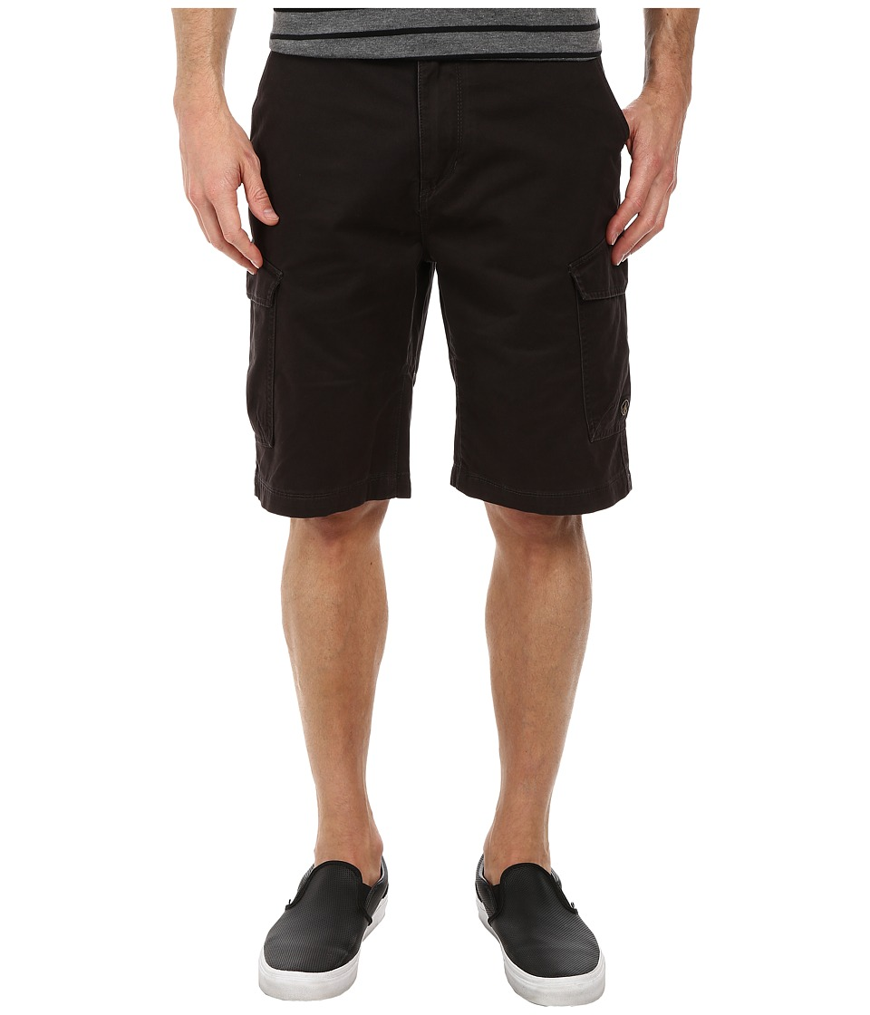 Volcom - Fieldstone Cargo Short (Black) Men's Shorts