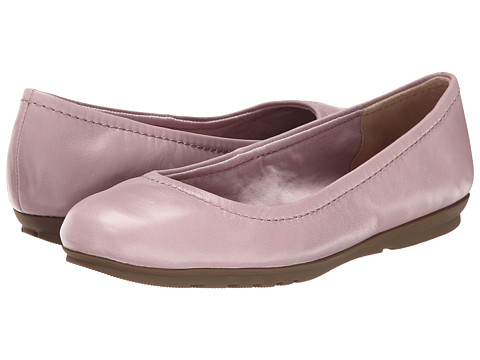 Rockport - Total Motion Ballet (Dusty Lilac Waxed Calf) Women's Flat Shoes