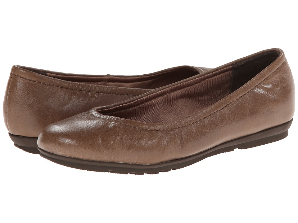 Rockport - Total Motion Ballet (New Taupe Tumble Goat) Women