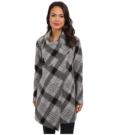 BB Dakota - Colton (Black/White) Women's Coat