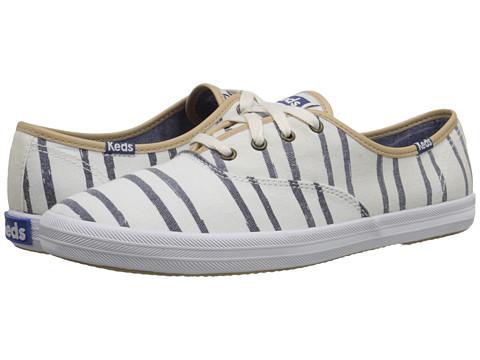 f9d4ec65e2c9 UPC 044209927584 product image for Keds - Champion Washed Beach Stripe (Off  White) Women s ...