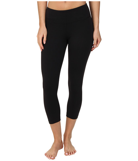 Zobha - Straight Leg Capri (Black) Women