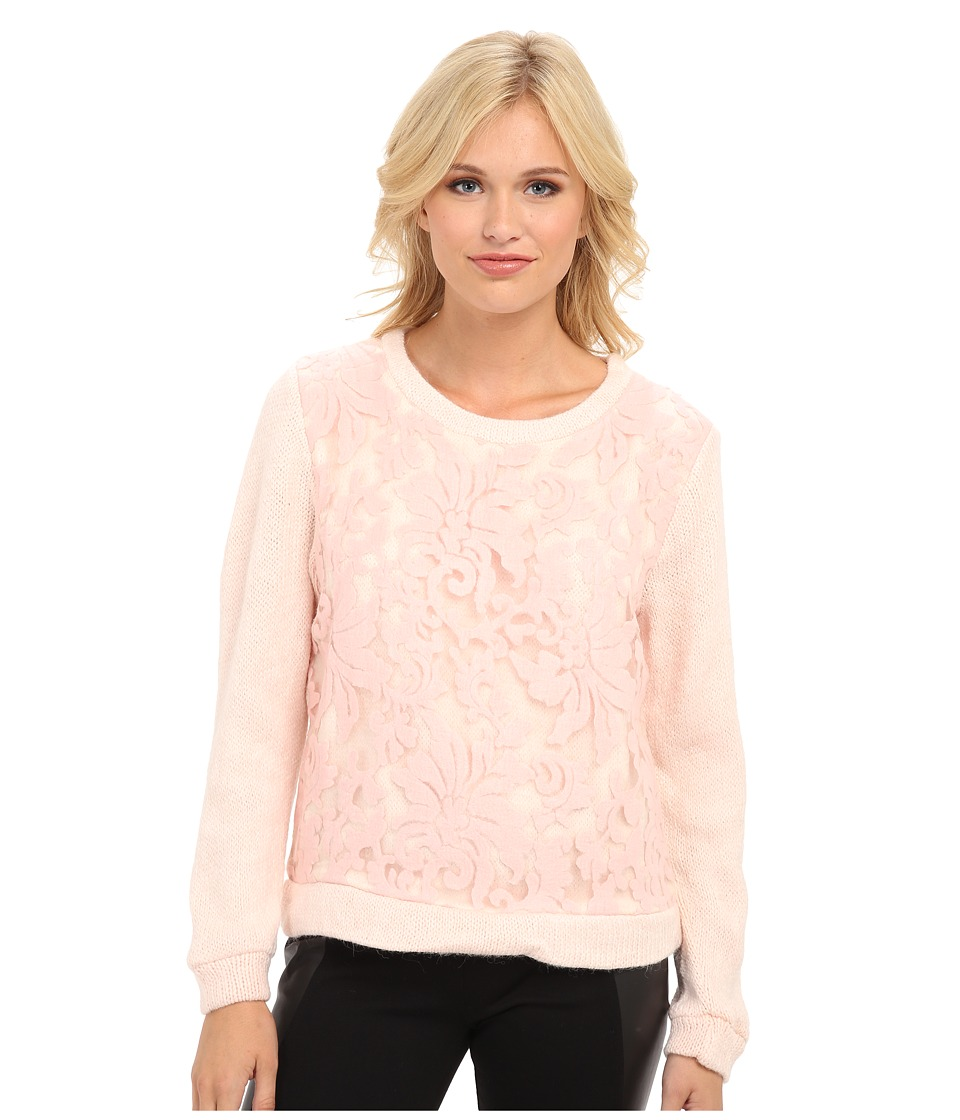 MINKPINK - Daydreamer Believer Jumper (Pink) Women's Long Sleeve Pullover