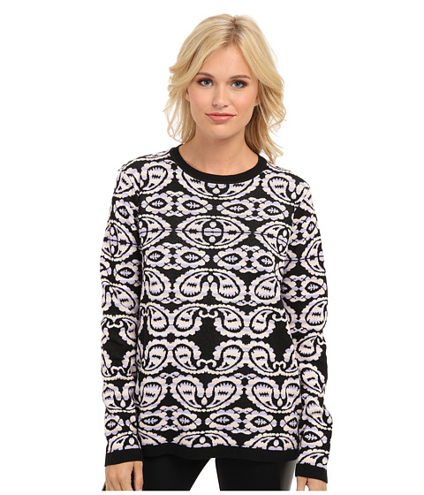 MINKPINK - Inner Sight Knit Jumper (Multi) Women's Long Sleeve Pullover
