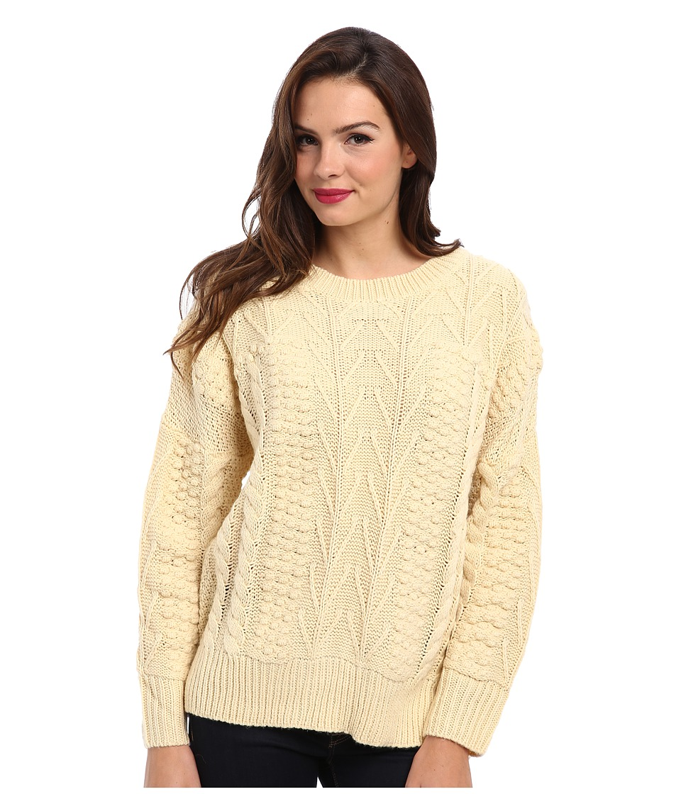 MINKPINK - Word Play Jumper (Cream) Women's Sweater