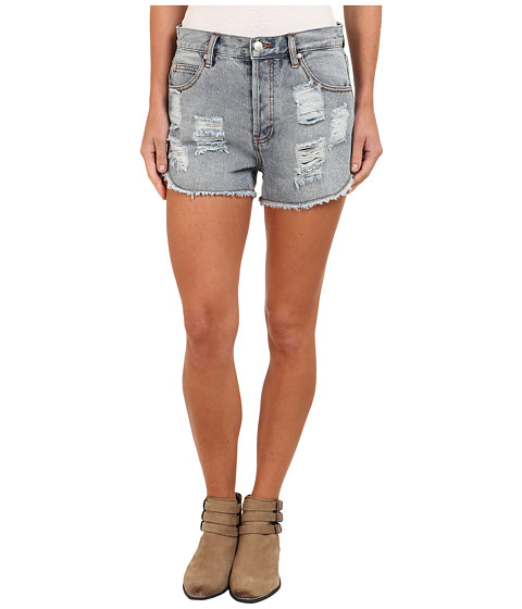 MINKPINK - Slasher Shorts in Blue Wash (Denim) Women