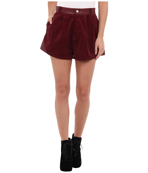 MINKPINK - Struck A Cord Short (Red) Women