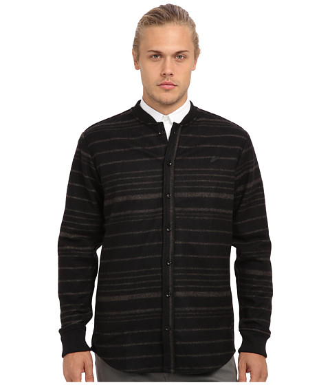 Publish - Wess Wool Chacket (Black) Men's Sweater