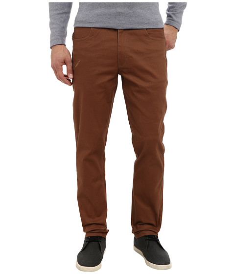 Publish - Dinaro Twill Pant (Rust) Men's Casual Pants