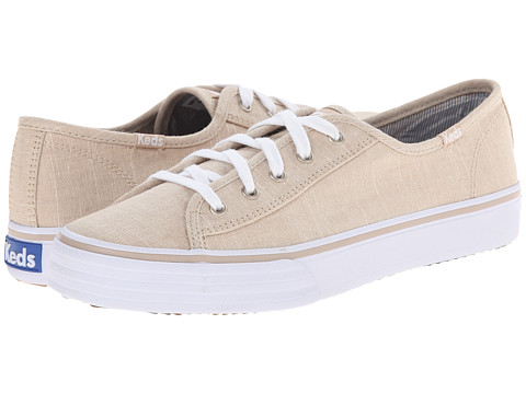 Keds - Double Up Linen (Natural) Women