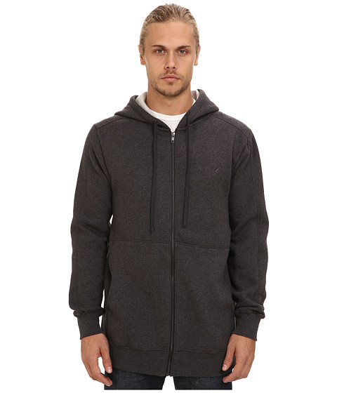Publish - Elton Zip Hoodie (Charcoal) Men's Sweatshirt