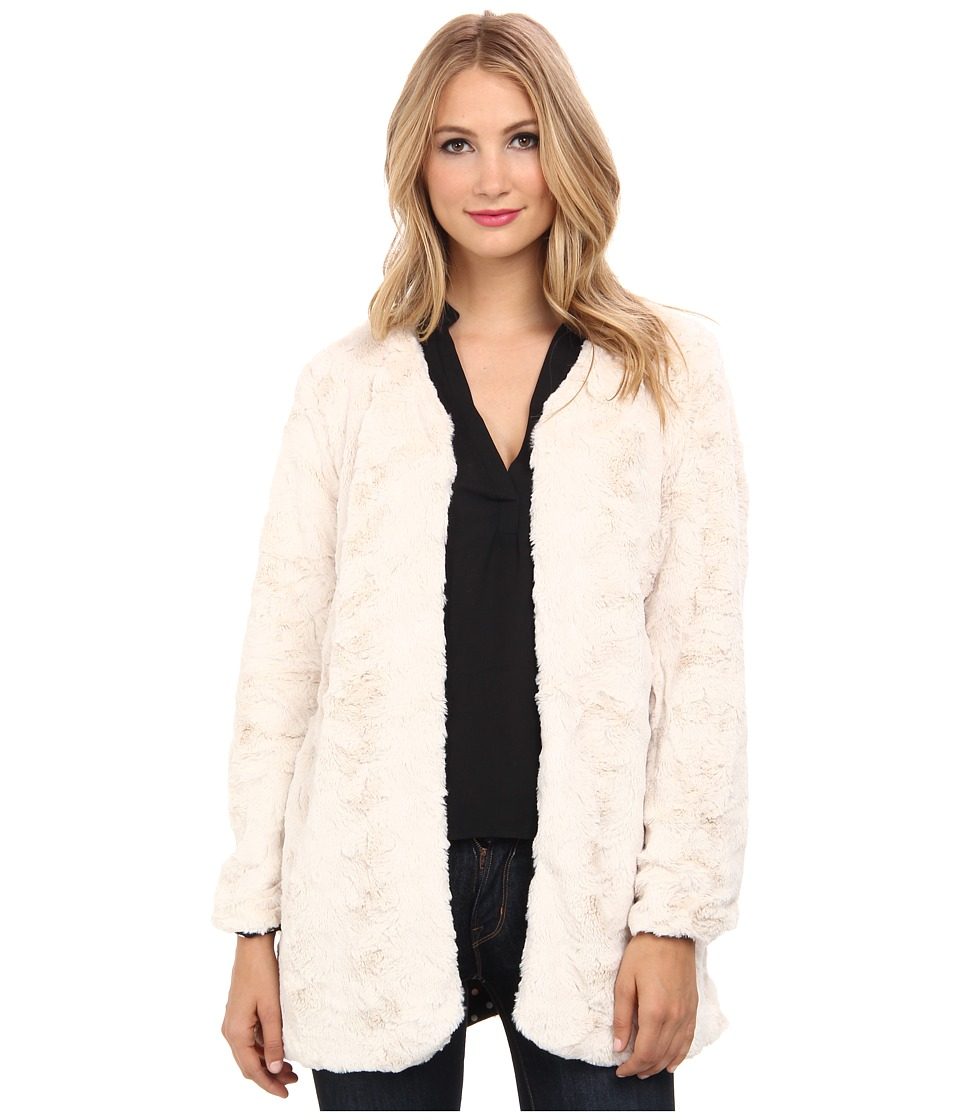 MINKPINK - Powder Room Coat (Cream) Women