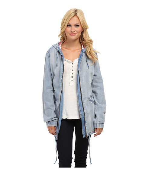 MINKPINK - Hay Seed Anorak (Denim) Women's Coat
