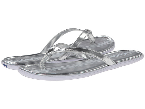 Keds - Tealight Thong Metallic (Silver) Women's Sandals