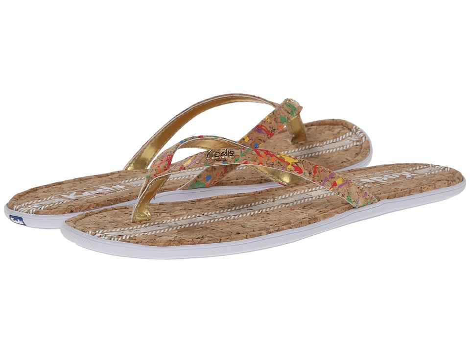 Keds - Tealight Thong Cork (Natural) Women's Sandals