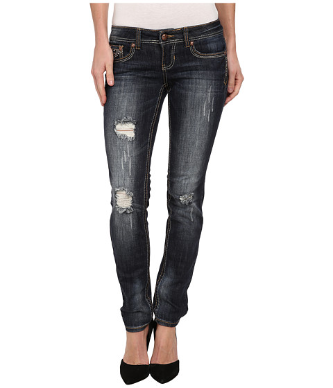 Antique Rivet - Juniors Skinny Jeans in Roadhouse (Roadhouse) Women