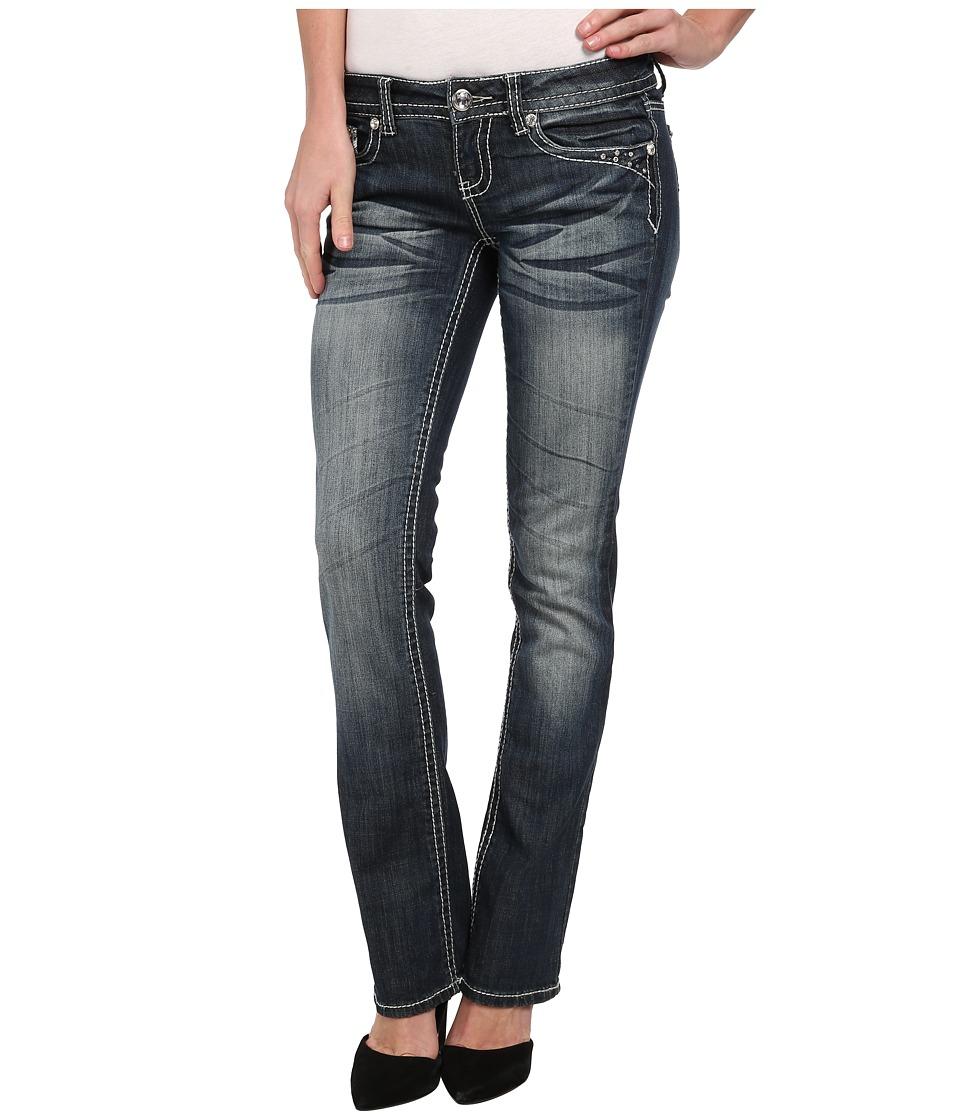 Antique Rivet - Juniors Slim Bootleg Jeans in Graceland (Graceland) Women's Jeans