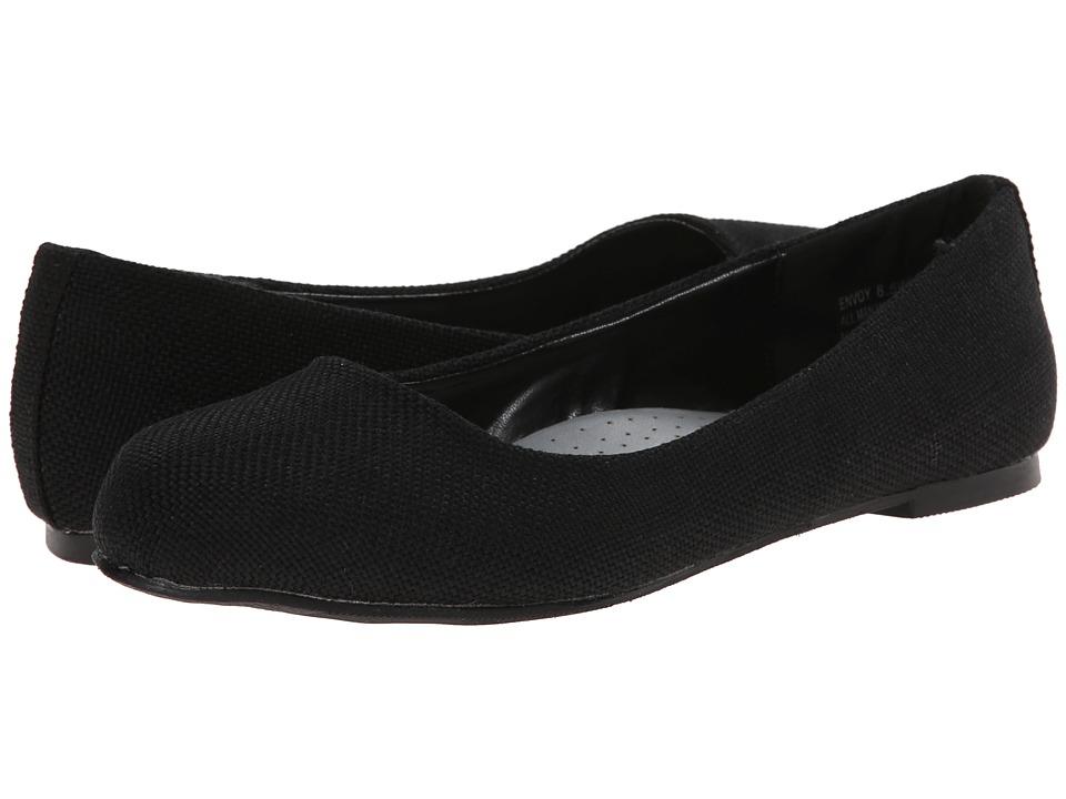 Annie - Envoy (Black) Women's Dress Flat Shoes