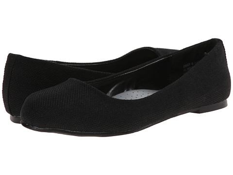 Annie - Envoy (Black) Women's Dress Flat Shoes