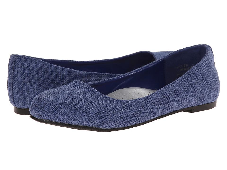 Annie - Envoy (Navy) Women's Dress Flat Shoes