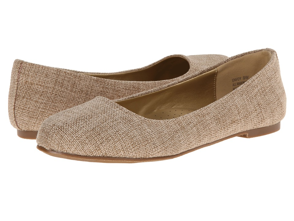 Annie - Envoy (Natural) Women's Dress Flat Shoes