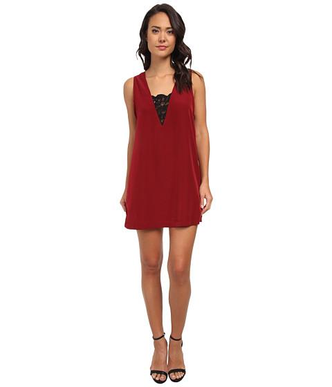 BB Dakota - Gracyn Dress (Dark Rose) Women's Dress