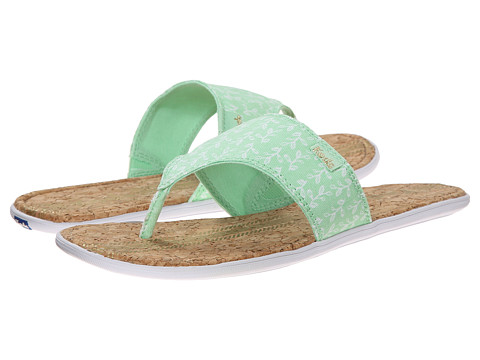 Keds - Tealight Wide Band Thong (Mint Green) Women