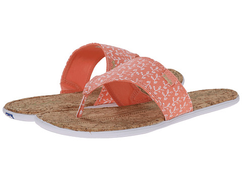 Keds - Tealight Wide Band Thong (Melon Pink) Women
