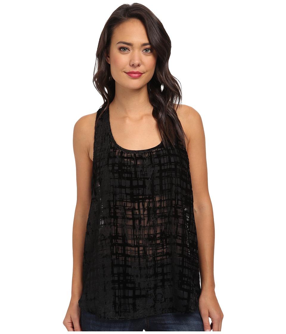 BB Dakota - Kendi Woven Top (Black) Women's Sweater