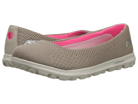 SKECHERS Performance - On The GO (Taupe) Women