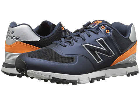 New Balance Golf - NBG574B (Navy/Orange) Men's Golf Shoes