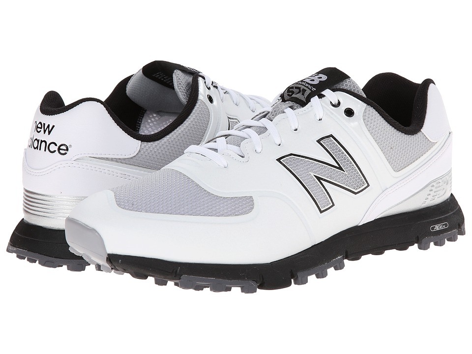 New Balance Golf - NBG574B (White) Men's Golf Shoes