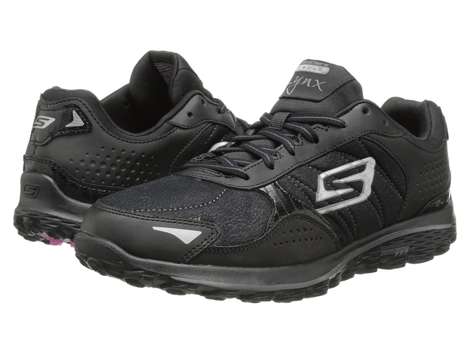 SKECHERS Performance - Go Walk 2 Golf - Lynx LT (Black) Women's Shoes