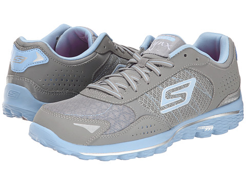 SKECHERS Performance - GO Walk 2 Golf - Lynx (Gray/Blue) Women's Shoes