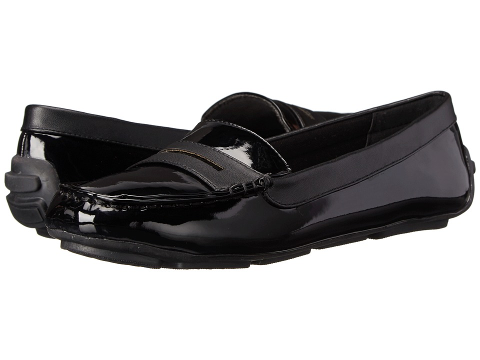 Annie - Drift (Black) Women's Flat Shoes