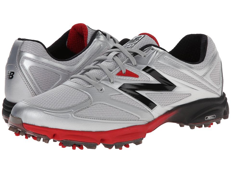 New Balance Golf NBG2003 (Silver/Red) Men