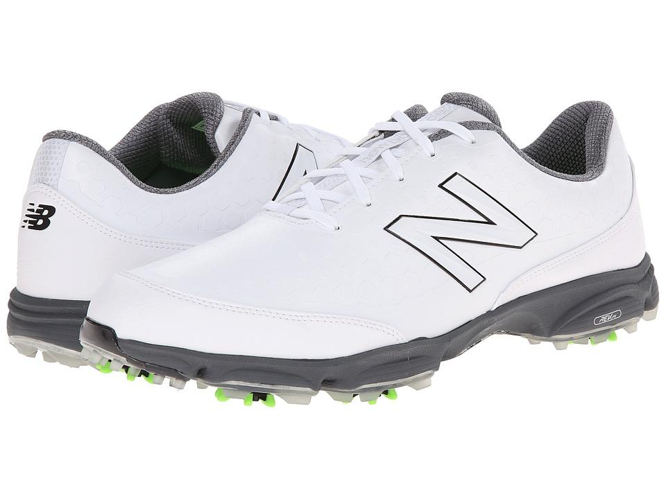 New Balance Golf - NBG2002 (White) Men's Golf Shoes