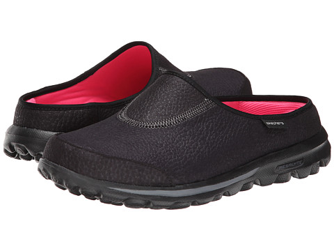 SKECHERS Performance - Go Walk - Free (Black) Women's Slip on Shoes