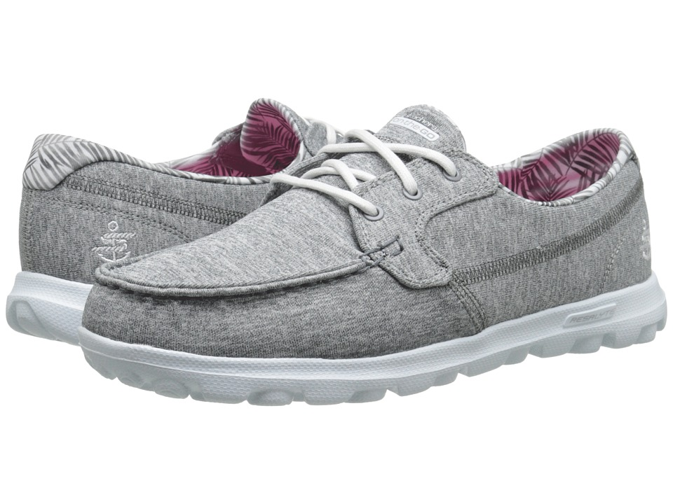 SKECHERS Performance - On The GO (Charcoal) Women's Shoes